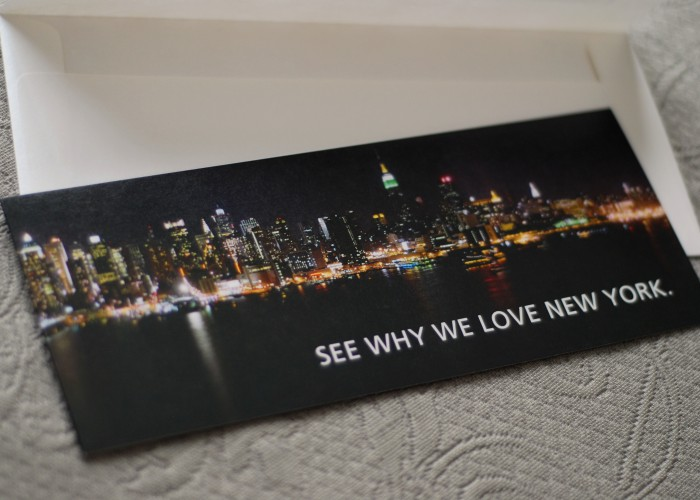 NYC based Industry Appreciation Invitation