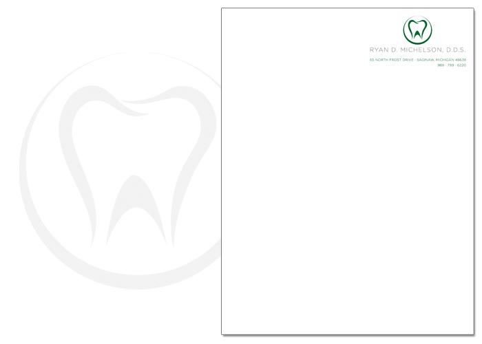 Dr. Michelson, D.D.S. letterhead