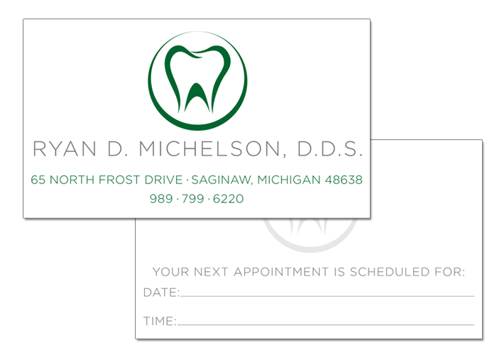 Dr michelson dds business card jamie lynne creative dr michelson dds business card colourmoves
